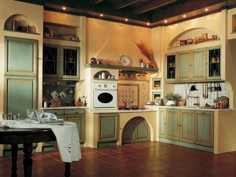 Cucine in muratura classiche rustiche e country grazia - Cucine marchi group ...