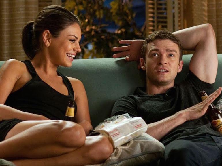 Justin Timberlake divano