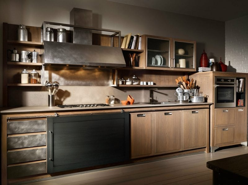 Stile industriale le cucine pi belle - Cucine urban style ...