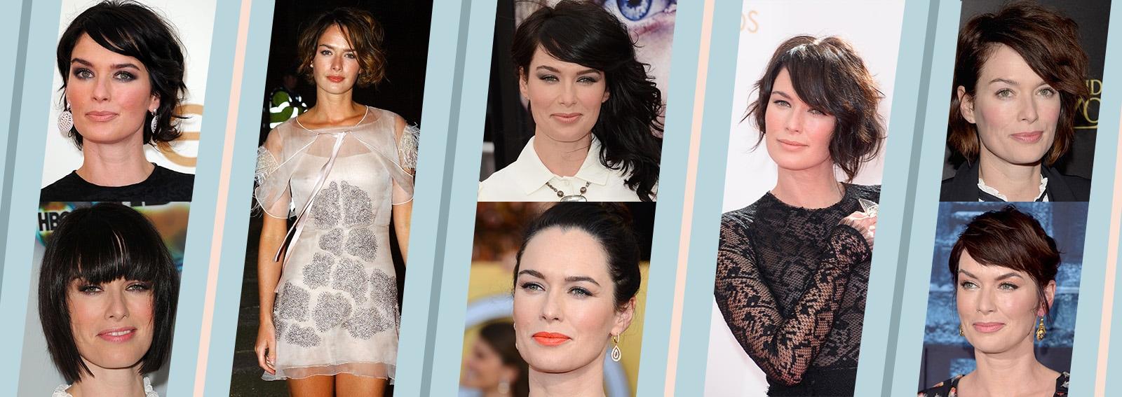 Lena Headey evoluzione beauty look trucco capelli collage_desktop
