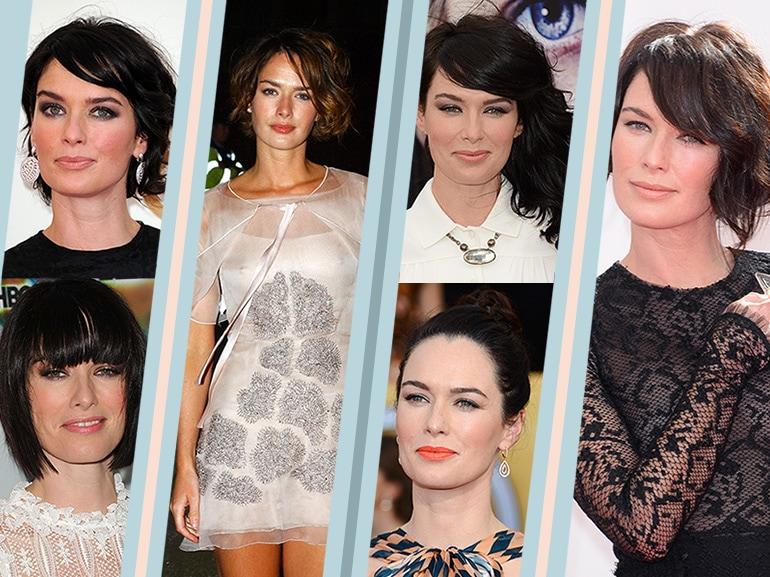 Lena Headey evoluzione beauty look trucco capelli collage_mobile