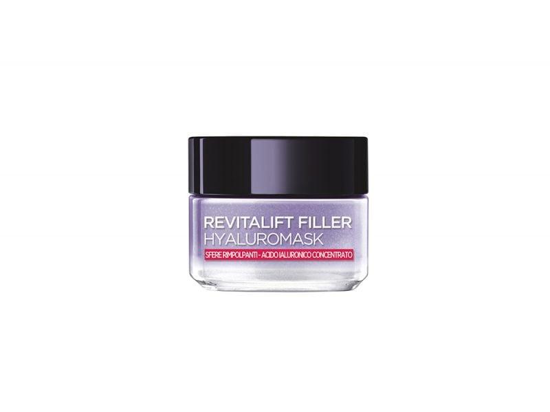 Pelle-in-autunno-i-consigli-della-dermatologa-per-la-corretta-beauty-routine-Revitalift-Filler- Hyaluromask-loreal