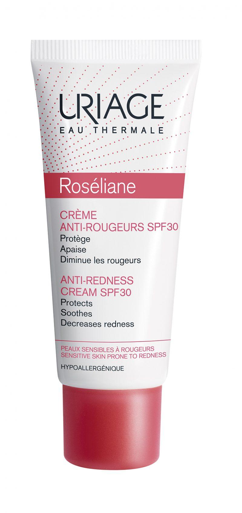 Pelle-in-autunno-i-consigli-della-dermatologa-per-la-corretta-beauty-routine-Roséliane-Crema-Anti-Arrossamenti-uriage