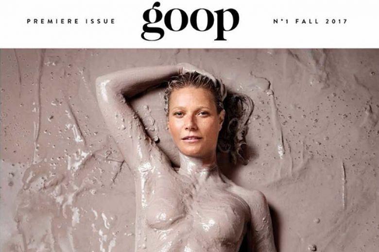Gwyneth Paltrow lancia una rivista e ci si mette nuda in copertina