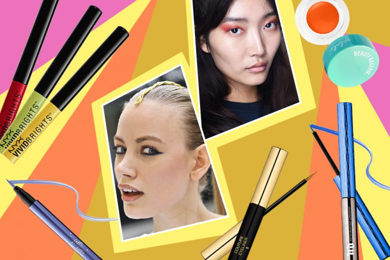 Eyeliner Colorati: il trend colore must have del momento