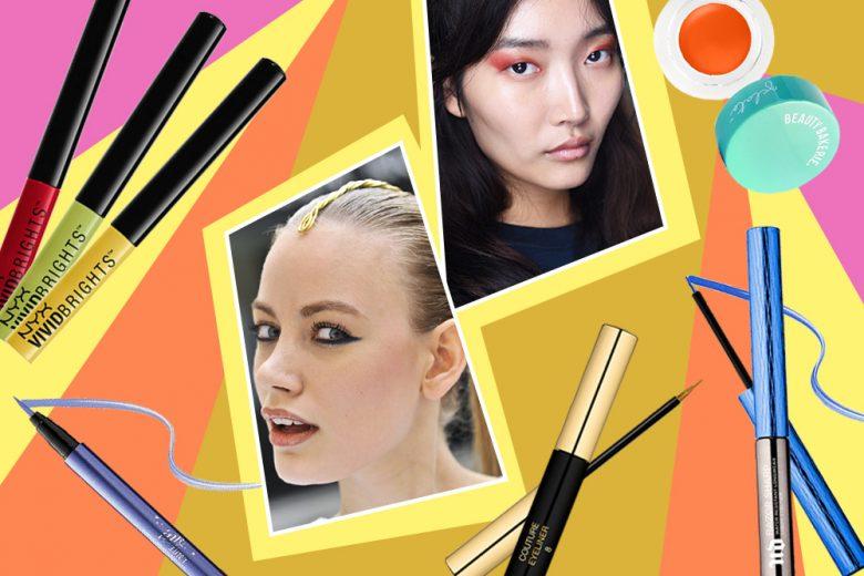 Eyeliner Colorati: il trend colore must have del momento