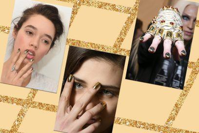 Nail art oro: le più belle creazioni da copiare ora