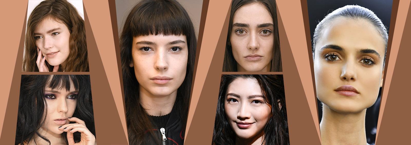 Sopracciglia dritte: la tendenza korean beauty del momento