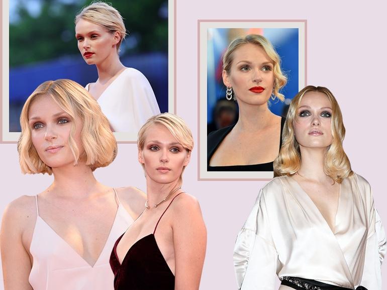 Caterina Shulha trucco e acconciature: i migliori beauty look