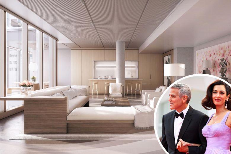 La nuova casa di George Clooney e Amal a New York