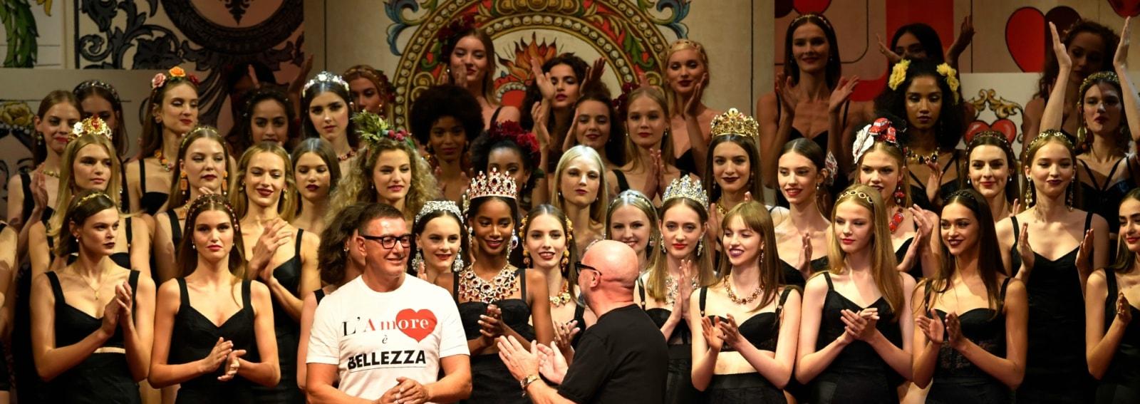 Le regine di cuore di Dolce & Gabbana