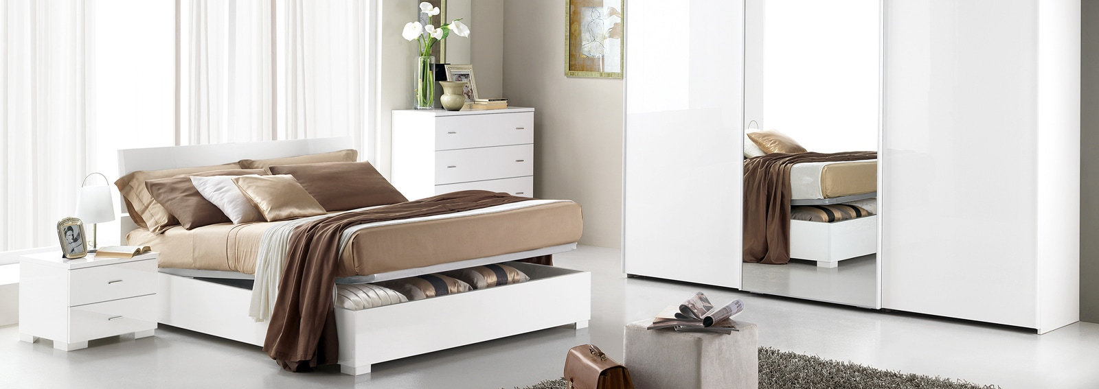 Camere Da Letto Piu Belle Del Mondo mondo convenienza: le camere da letto più belle - grazia