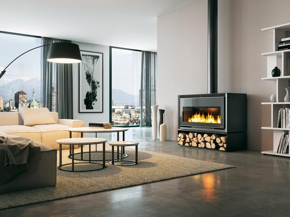 Grand Foyer Et Petit Foyer : Palazzetti le stufe a pellet e legna più belle per il
