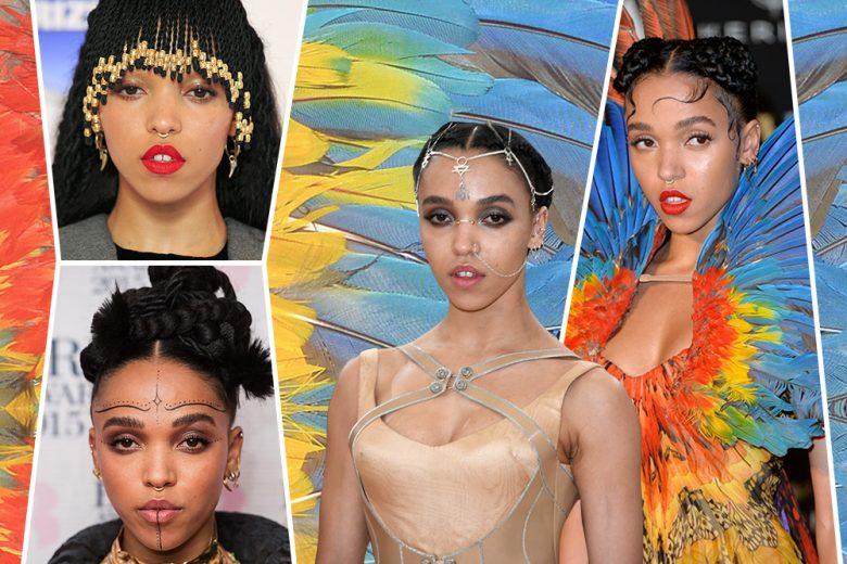 Fka Twigs beauty look: tutto su trucco e capelli della cantante