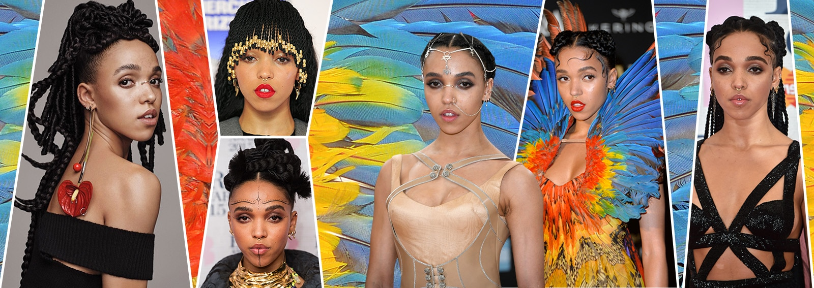 fka twigs beauty look trucco capelli collage_desktop