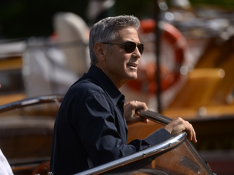 george clooney barca