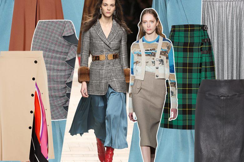 Gonne: 10 modelli che indosseremo questo autunno