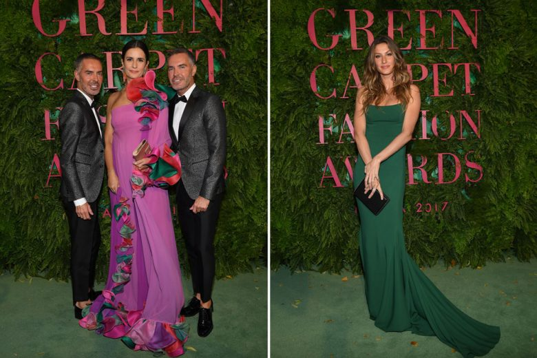 Green Carpet Fashion Awards: un tappeto verde a La Scala di Milano