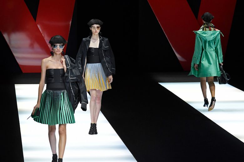 Giorgio Armani: il nuovo nero è a colori
