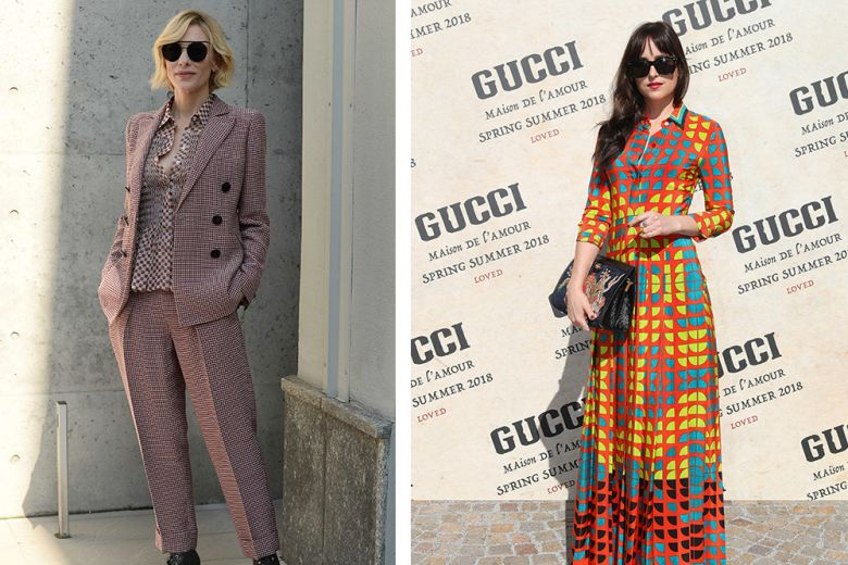 Dakota, Cate, Michelle, Olivia e le altre celeb alle sfilate di Milano