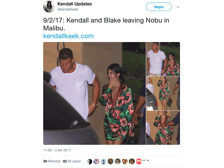 kendall jenner blake griffin