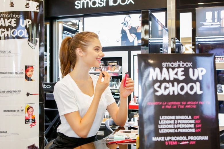 Make Up School 2017 Profumerie Limoni e La Gardenia con Smashbox