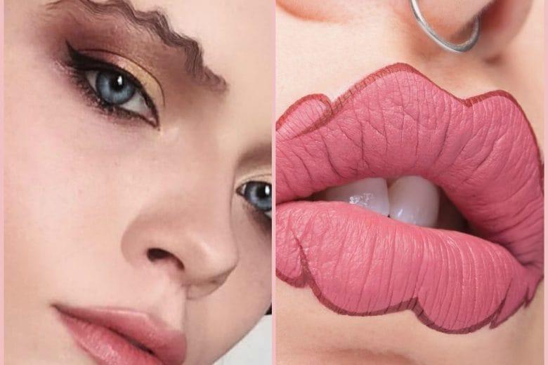 Wavy Lips e Wavy Brows: labbra e sopracciglia a onde con il trucco