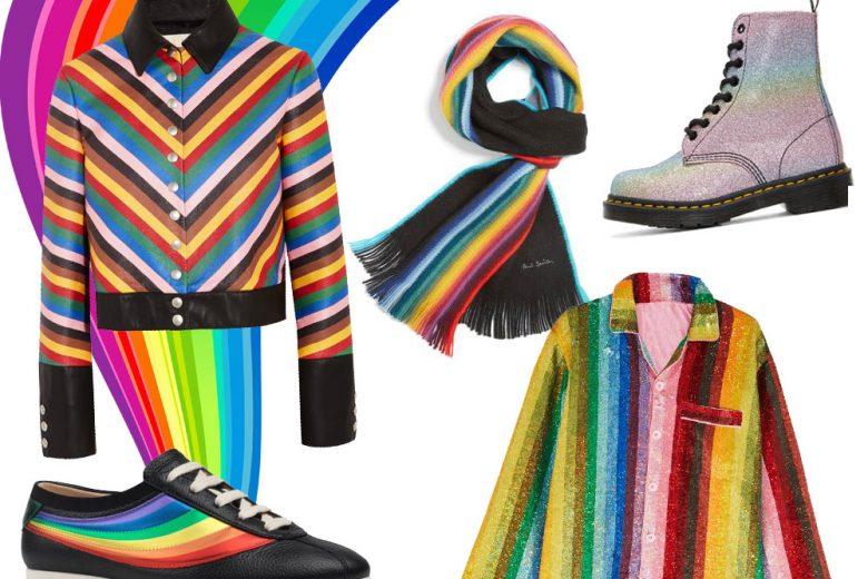 """Arcobaleno """"fashion"""": i capi e gli accessori in stile """"rainbow"""""""
