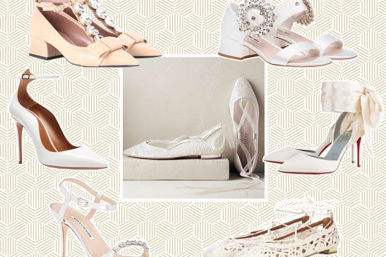 Scarpe da sposa: i modelli più belli del momento