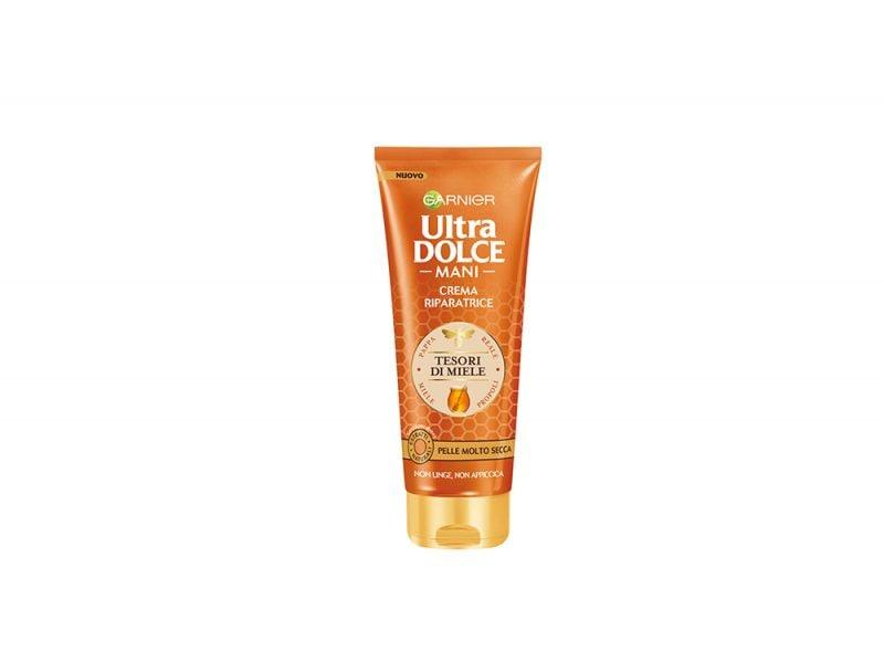 Crema-per-le-mani-le-novita-perche-usarle-e-quali-scegliere-in-base-alle-proprie-esigenze-Ultra Dolce Crema Tesori-Miele
