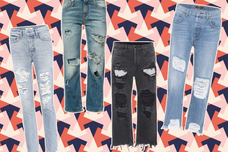 """""""Belli e dannati"""", i jeans strappati per l'autunno 2017"""