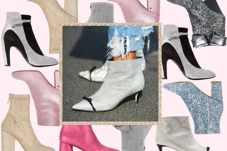 Glitter boots, gli irrinunciabili stivaletti di stagione
