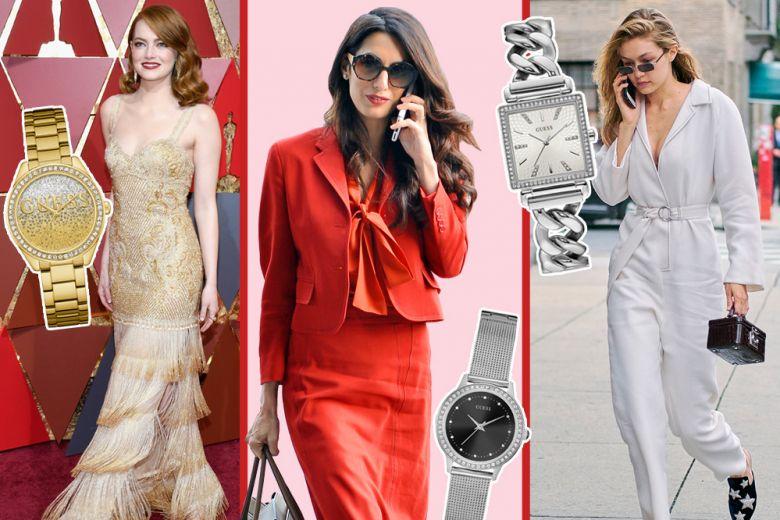 GUESS: la nuova collezione di orologi per brillare come le star
