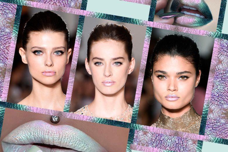 Labbra opal a effetto frost: il trend che porta la luce sulle labbra