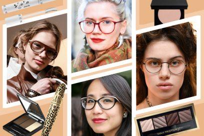Trucco con occhiali da vista: come far risaltare lo sguardo