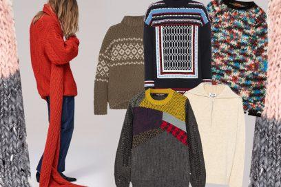 I maglioni per riscaldare l'inverno