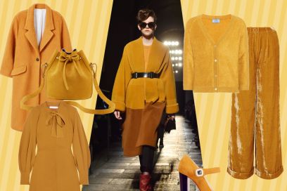 Tendenza mustard: il giallo must-have dell'autunno 2017