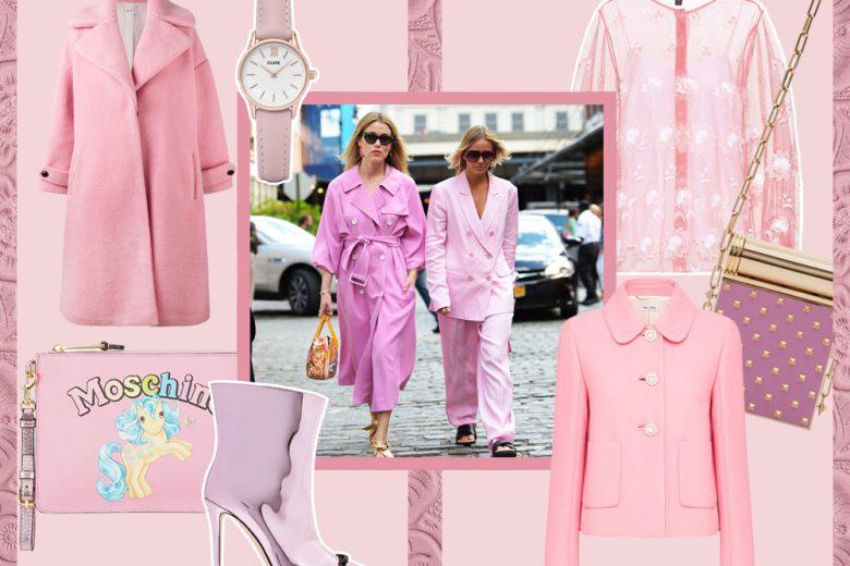 Millennial pink: il rosa è il colore più cool di stagione