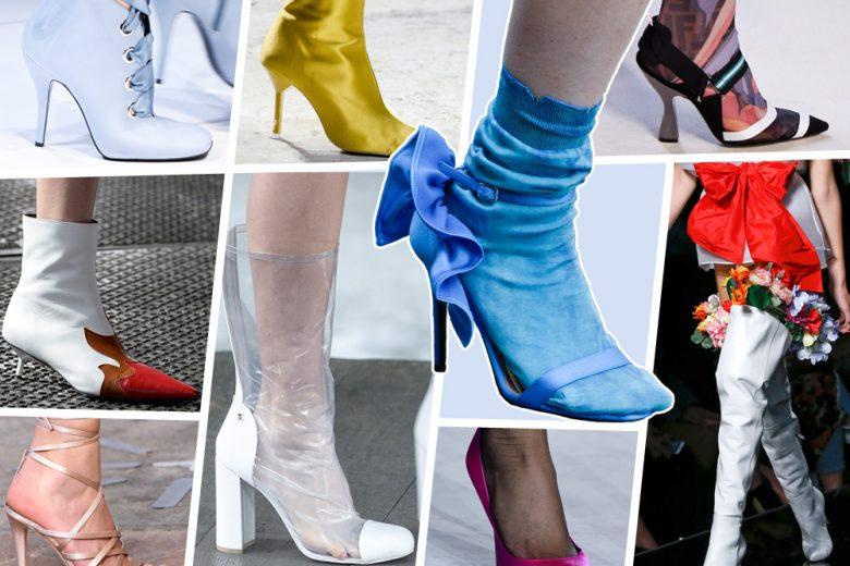 Scarpe: i modelli per la Primavera-Estate 2018 dalle passerelle