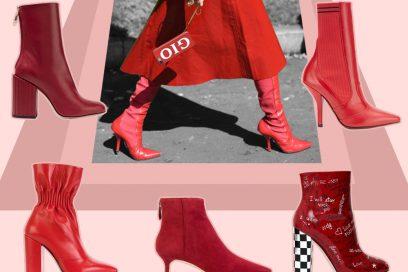 Red Boots: stivali e stivaletti si tingono di rosso