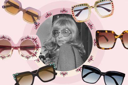 Occhiali da sole Seventies: fascino da diva per le giornate d'autunno