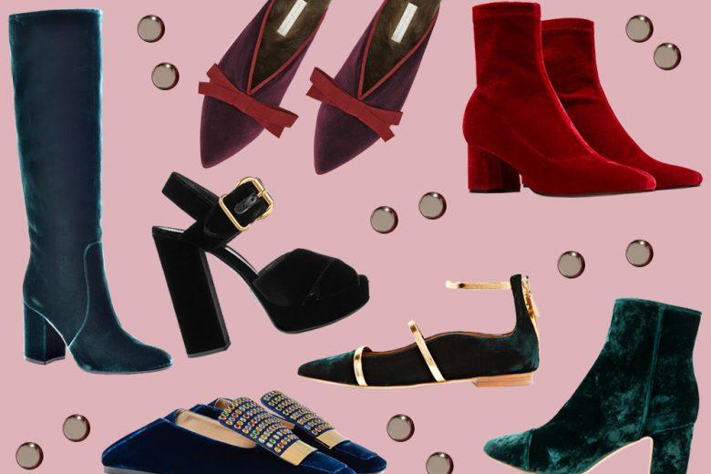 Scarpe in velluto: i modelli dell'autunno 2017 di cui innamorarsi