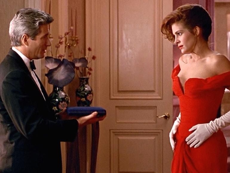 Julia Roberts vestito rosso