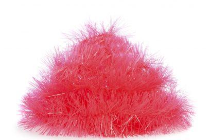 Kimball-2521901-Neon Pink Tinsel on Packing Card, Grade Roi-G FRIT-J IB-D, P1, €1.50 $1.50