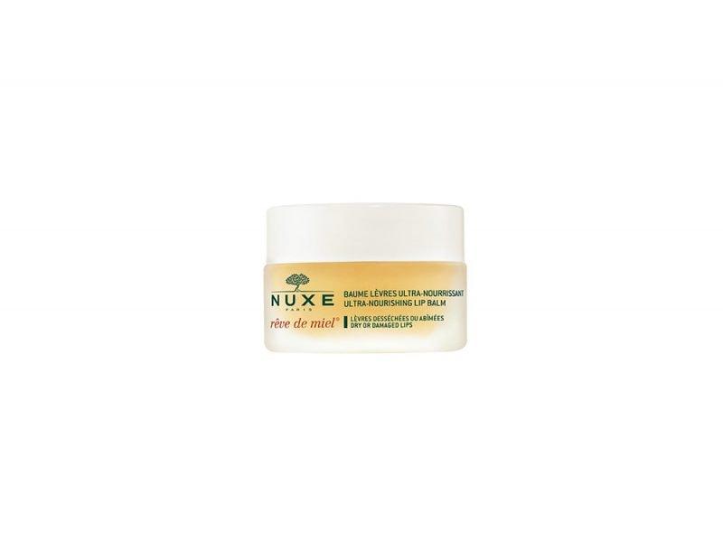 Labbra-i-prodotti-giusti-per-averle-al-bacio-NUXE baume levres reve de miel