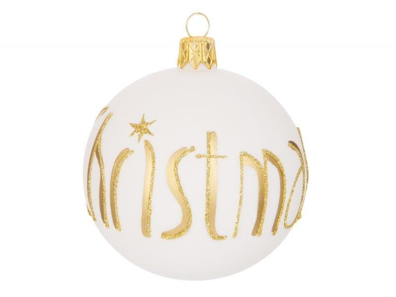 MDM-Boule Gold CHRISTMAS