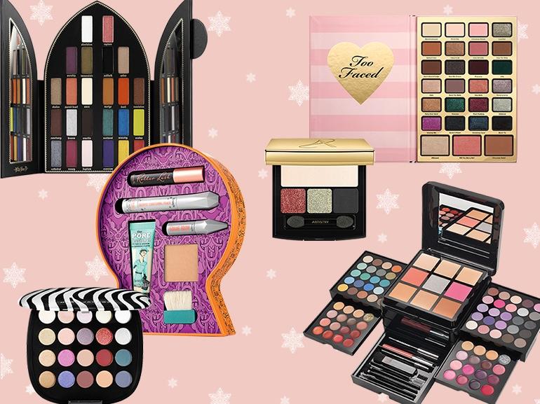 Make up viso e occhi le migliori palette natalizie-mobile