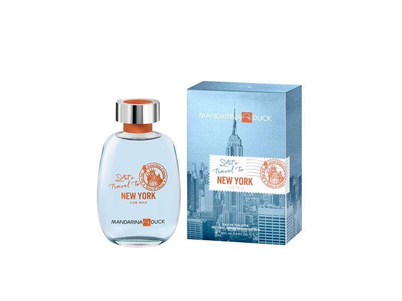 Mandarina Duck Let's Travel to NY FOR MAN Bottle+pack 100ml