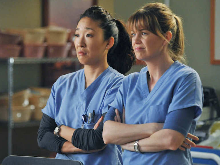 Meredith e Cristina Grey's Anatomy