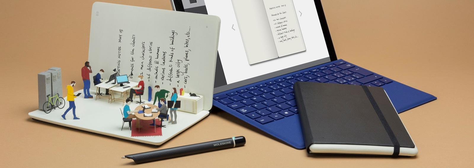 Moleskine Notes App_Windows desktop